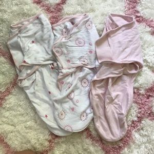 Aiden and Anais swaddles